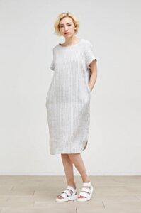 Maska - Kleid Avery Wide Linen Dress - Maska