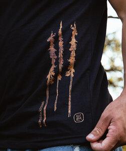 T-Shirt mit Motiv / Woodoptik -Trees - Kultgut
