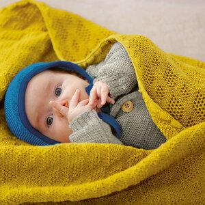 Baby Wolldecke 80 x 100 cm - Disana