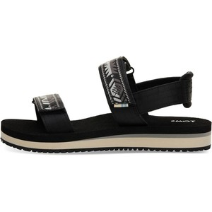 Black Ray Sandals - Toms