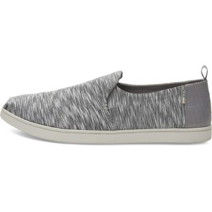 Drizzle Grey White Noise Jersey Mens Deconstructed Alpargatas - Toms