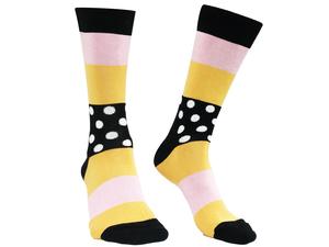 Socken Bio GOTS |Bunte Socken |Herren Damen Socken | Dots Stripes - Natural Vibes