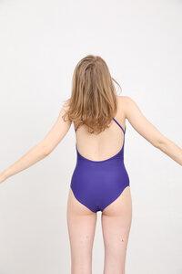 """Sexy Badeanzug mit verstellbaren Spaghetti-Trägern und niedrigem Rückenausschitt """"SWIMSUIT No. 2"""" - MARGARET AND HERMIONE Swimwear Vienna"""