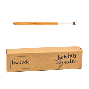 Kosmetikpinsel mit Bambusgriff & synthetischen Borsten - Bambuswald