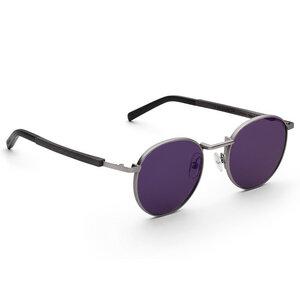 Sonnenbrille Liam Schwarzes Eichenholz - TAS - Take a shot