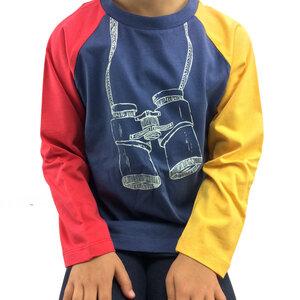 Raglan Langarmshirt Fernglas - Kite Kids