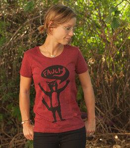 Kater Ferdinand Fauch - Fair Wear Frauen T-Shirt - päfjes