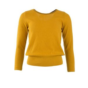 Pullover - Top livia long sleeves mustard  - Froy & Dind