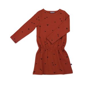 Kleid - dress angel triangle foxes sweater cotton - Froy & Dind