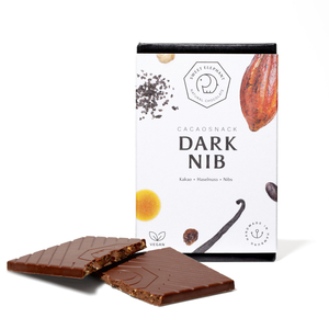 "Nussbeerschokolade ""Dark Nib"" - Sweet Elephant Chocolate"