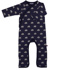Wickelstrampler Igel - jumpsuit without feet jersey cotton - Froy & Dind