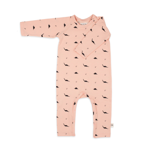 Wickelstrampler Dino - Jumpsuit no dino jersey cotton - We say no!