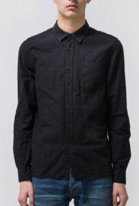 Henry Batiste Garment Dye Black - Nudie Jeans