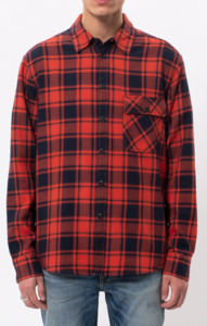 Sten Flannel Check  - Nudie Jeans