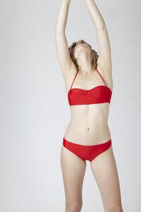 """Klassisches Bikini Höschen """"BIKINI BOTTOM No. 2"""" - MARGARET AND HERMIONE Swimwear Vienna"""