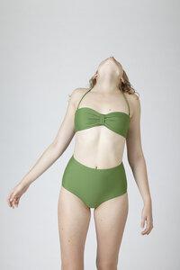 """Hoch geschnittenes Bikini Höschen mit Shape Effekt """"BIKINI BOTTOM No. 3"""" - MARGARET AND HERMIONE Swimwear Vienna"""