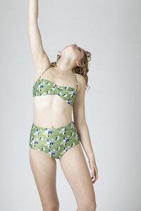 BIKINI BOTTOM No. 3  print - MARGARET AND HERMIONE Swimwear Vienna