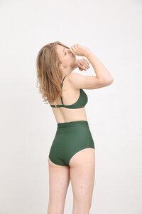 """Super hoch geschnittenes Bikini Höschen mit Masche und Shape Effekt """"BIKINI BOTTOM No. 4"""" - MARGARET AND HERMIONE Swimwear Vienna"""