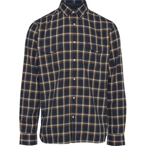 KnowledgeCotton Apparel Flannel Checked Shirt GOTS - KnowledgeCotton Apparel