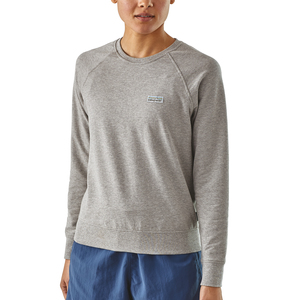 Sweatshirt - W's Pastel P-6 Label Ahnya Crew Sweatshirt - Patagonia