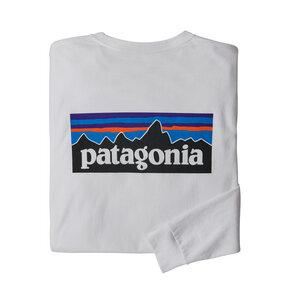 Langarmshirt - M's L/S P-6 Logo Responsibili-Tee - Patagonia
