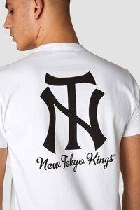 T-Shirt - Darius New Tokyo - Weiß  - Kings Of Indigo