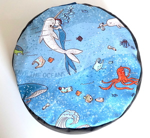 Sitzerhöhung/Meditationskissen Save the Oceans - HipHip-Hurra