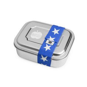 """Lunchbox """"ZWEIER"""" mit Unterteilung aus Edelstahl - Brotzeit"""