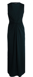 Langes Kleid mit Taillenraffung - bill, bill & bill