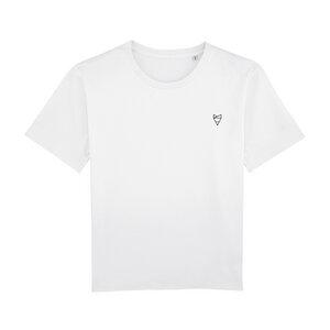 Cityfox Stick - Frauen Wideshirt - White - dressgoat