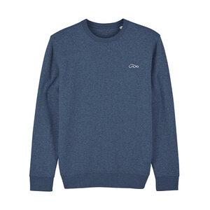 Wavinity – Unisex Sweater – Dark Blue - dressgoat