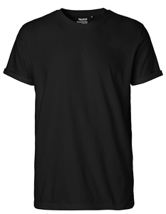 Mens Roll Up Sleeve T-Shirt Malte - University of Soul