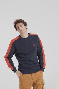 Sweatshirt - mu duke sweatshirt- dunkelblau  - thinking mu