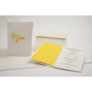 Briefkarte Biene - Formes