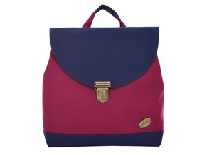 "Leesha PrETty Upcycling Rucksack ""Quinn"" in Bordo-Marin - Leesha"