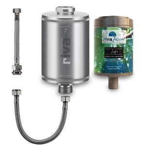 rivaALVA Filter Life Trinkwasserfilter Set | 100% Bio, Plastikfrei - rivaALVA