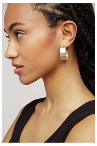 Ohrringe - Wide Hoop Earrings - People Tree