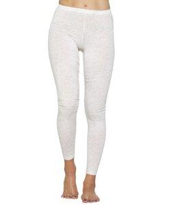 "Damen Leggings aus Eukalyptus Faser ""Susi"" weiß - CORA happywear"