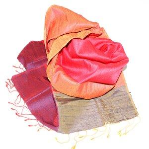 Ophelia Edler Schal aus handgewebter Seide - Schönes aus Indochina