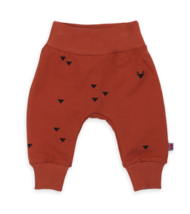 Babyhose - pants iggy triangle foxes sweater cotton  - Froy & Dind