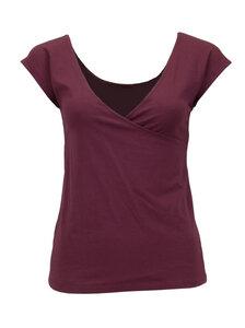 T-Shirt Gina, redwine - Jaya