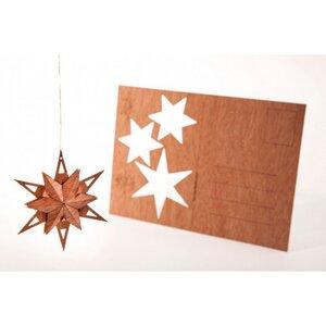 Zedernholzkarte Stern - Formes