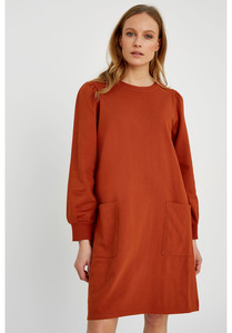 Beth Fleece Dress  - People Tree