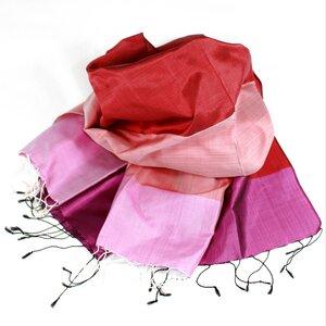 ILDIKO Edler Schal aus handgewebter Seide - Schönes aus Indochina