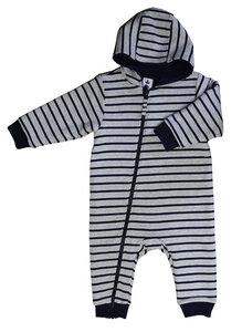 Fleece Overall Bio-Baumwolle mit Kaputze - Leela Cotton