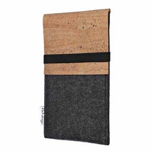 Handyhülle SAGRES für Samsung Galaxy Note-Serie - VEGAN Filz Hülle Kork - flat.design