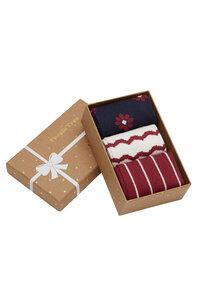 3er Pack Socken - Daisy Patterned Socks Set of 3 in box - People Tree