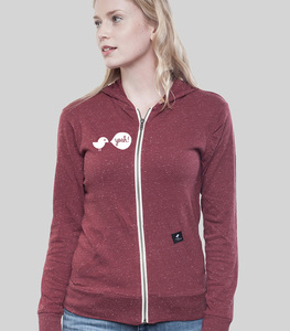 Light Zip Hoody Women Birdy Hey - SILBERFISCHER