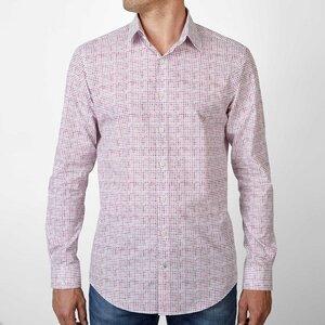 Nachhaltige Langarm Herren Hemd  Red Dot Fun - SKOT Fashion