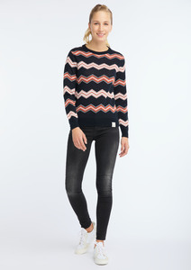 Knit Crew Neck #ZIGZAG - recolution